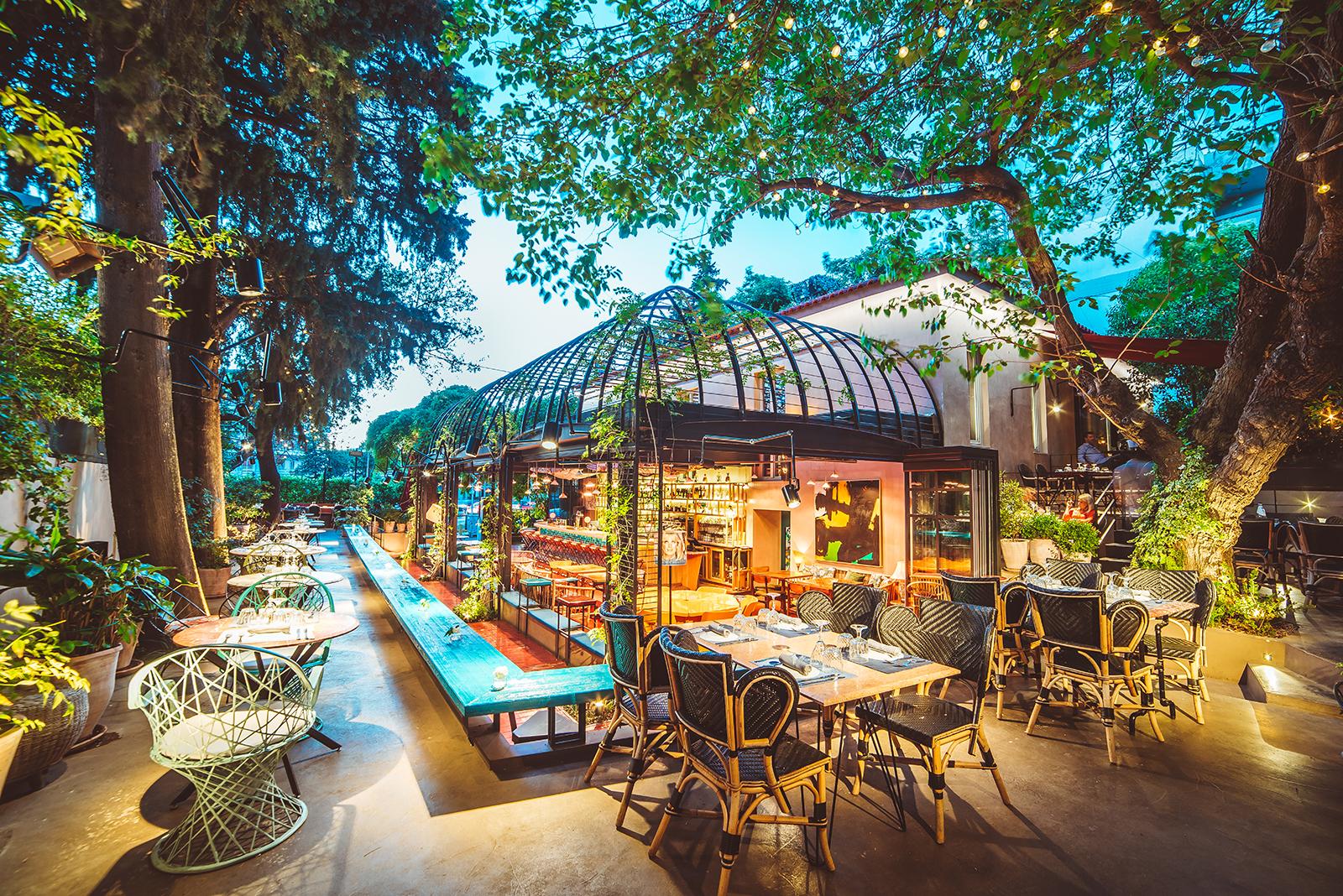 Artisanal Lounge & Gardens, Bar-restaurant